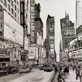 Times Square, Trevor Bavin