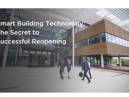 How smart building management technology helps commercial real estate  adapt to the post-covid world