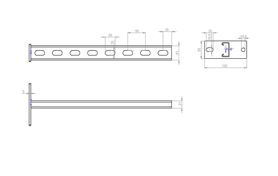Нкс1-400 Настенный кронштейн MS