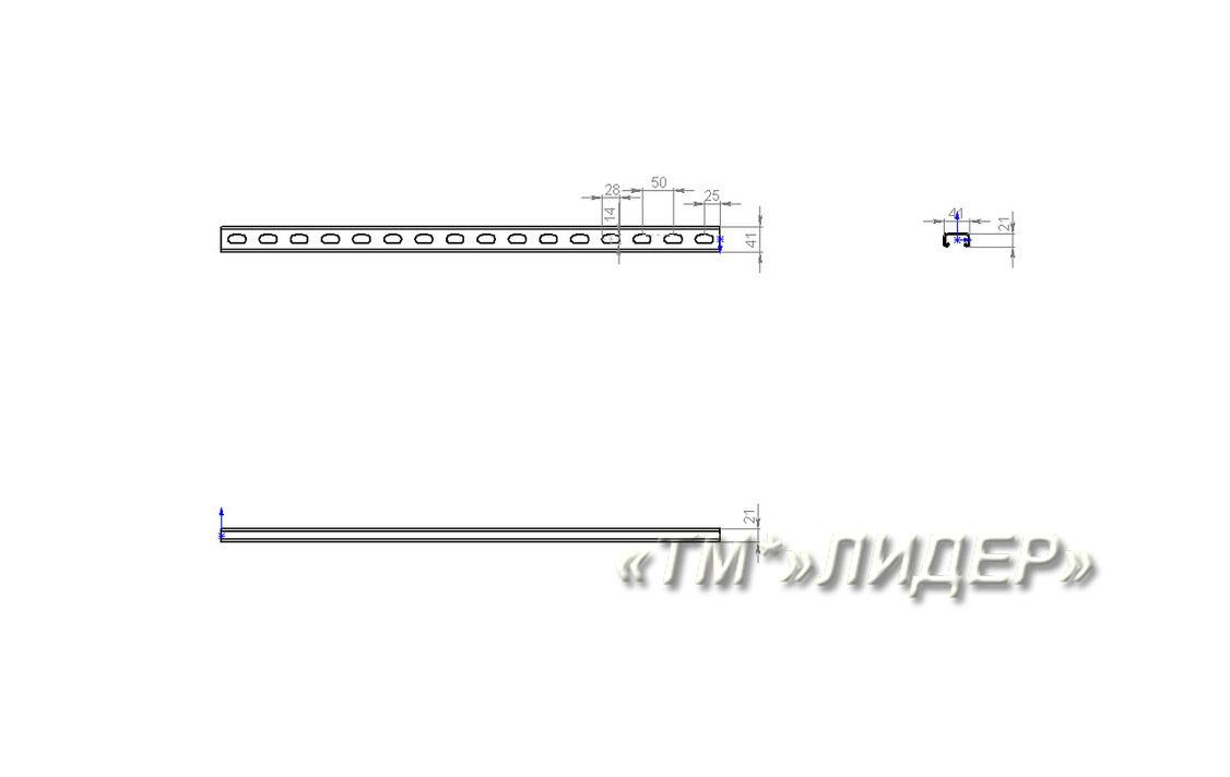 STRUT MS СП-41х21 Страт профиль