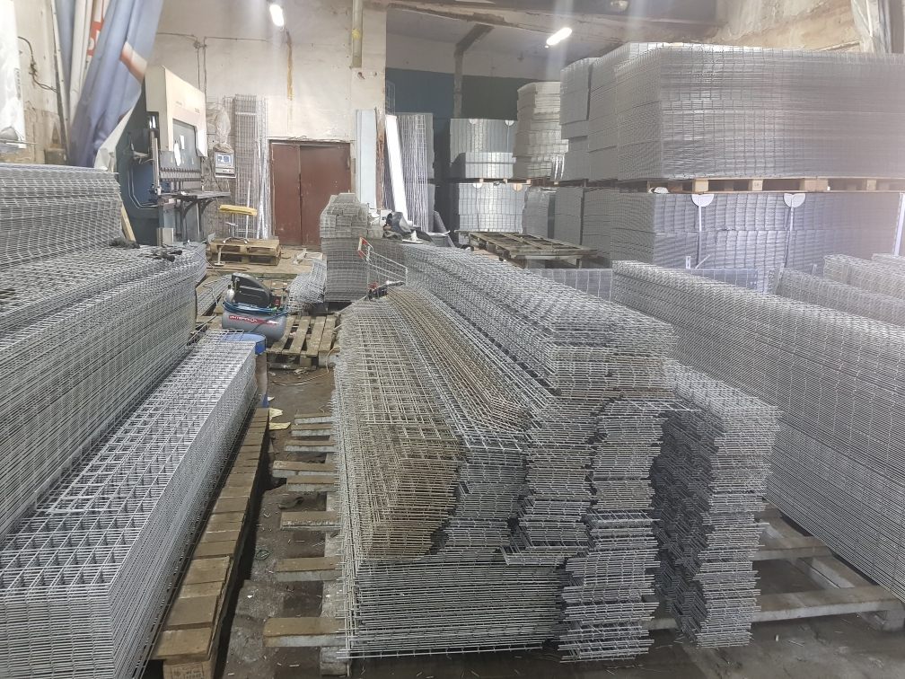 Производство проволочных лотков