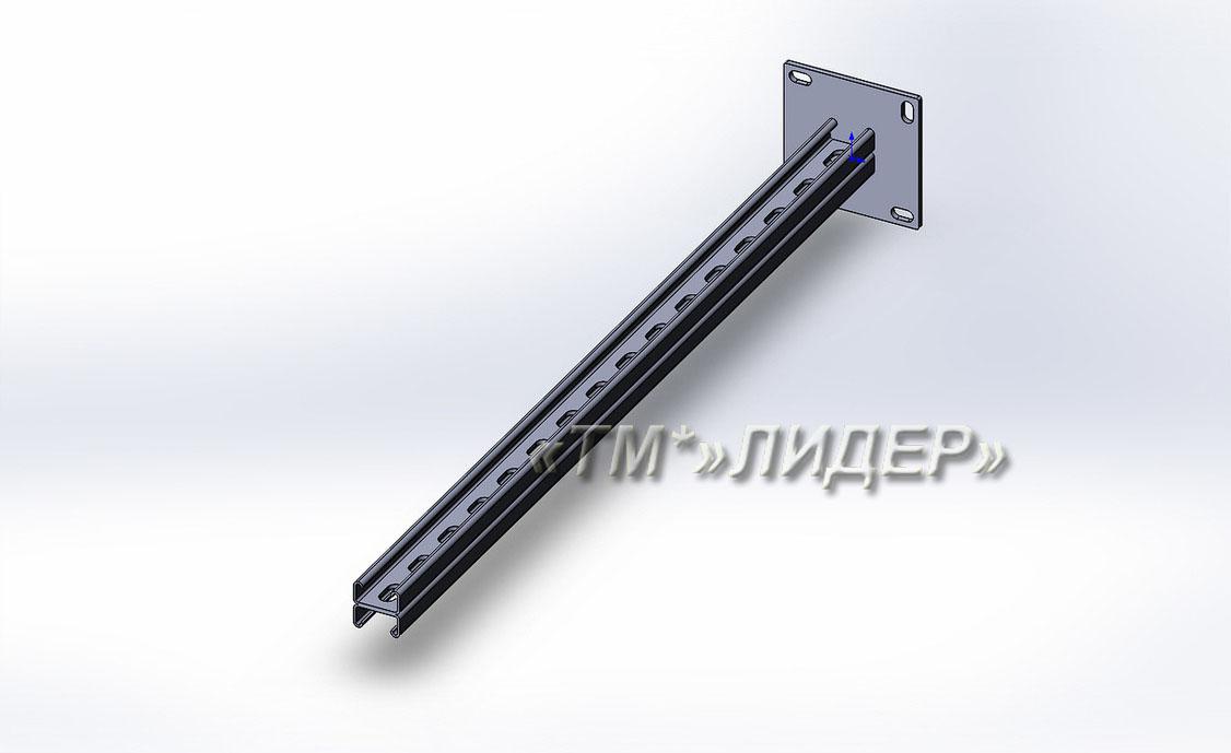 Квс2-Консоль вертикальная Страт MS