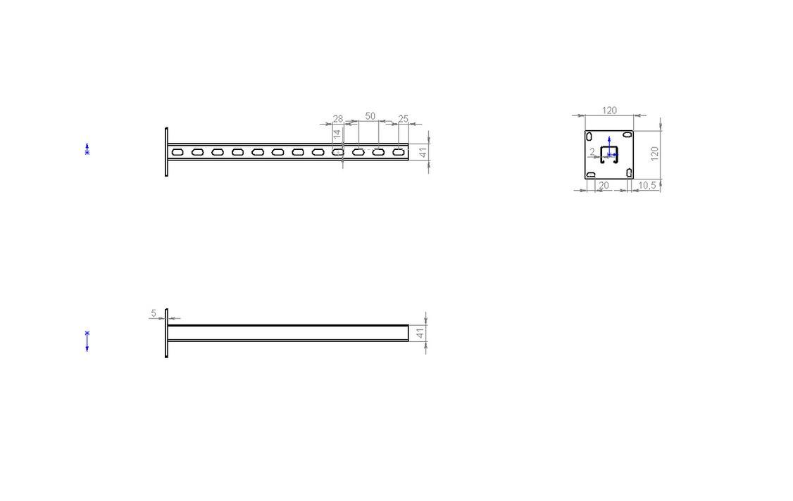 Квус1 Стойка вертикальная страт