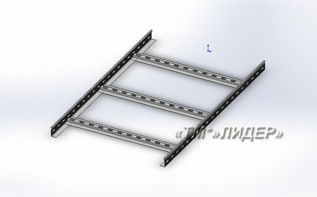 Лестничные лотки НЛЗ 600х50х3000 оци
