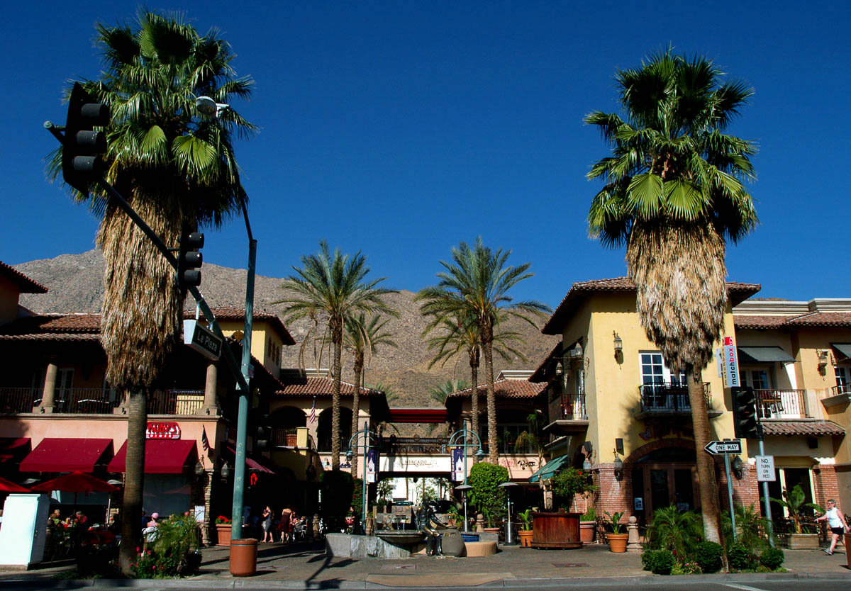 Enjoy Downtown Palm Springs