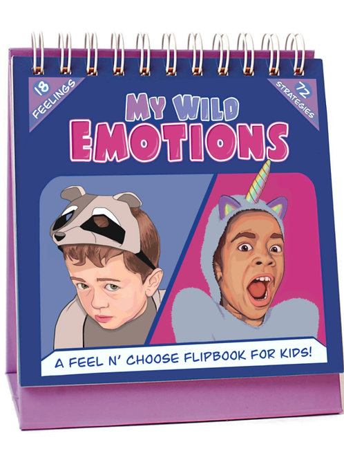 My Wild Emotions Flipbook