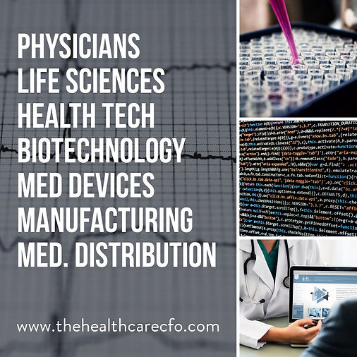 The Healthcare CFO CFO Services by Healt