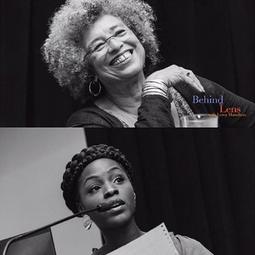 """Performing """"Woke Black Folk"""" for the first time at the CSULA Pan African Studies Forum with Angela Davis."""