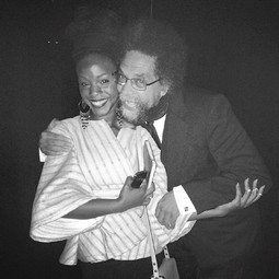 With Dr. Cornel West.