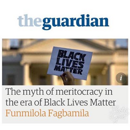 My most recent peice for the Guardian on the myth of American meritocracy.