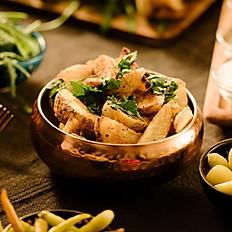 Potato Wedges with za'atar spice