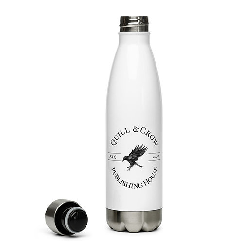 Quill & Crow Stainless Steel Water Bottle