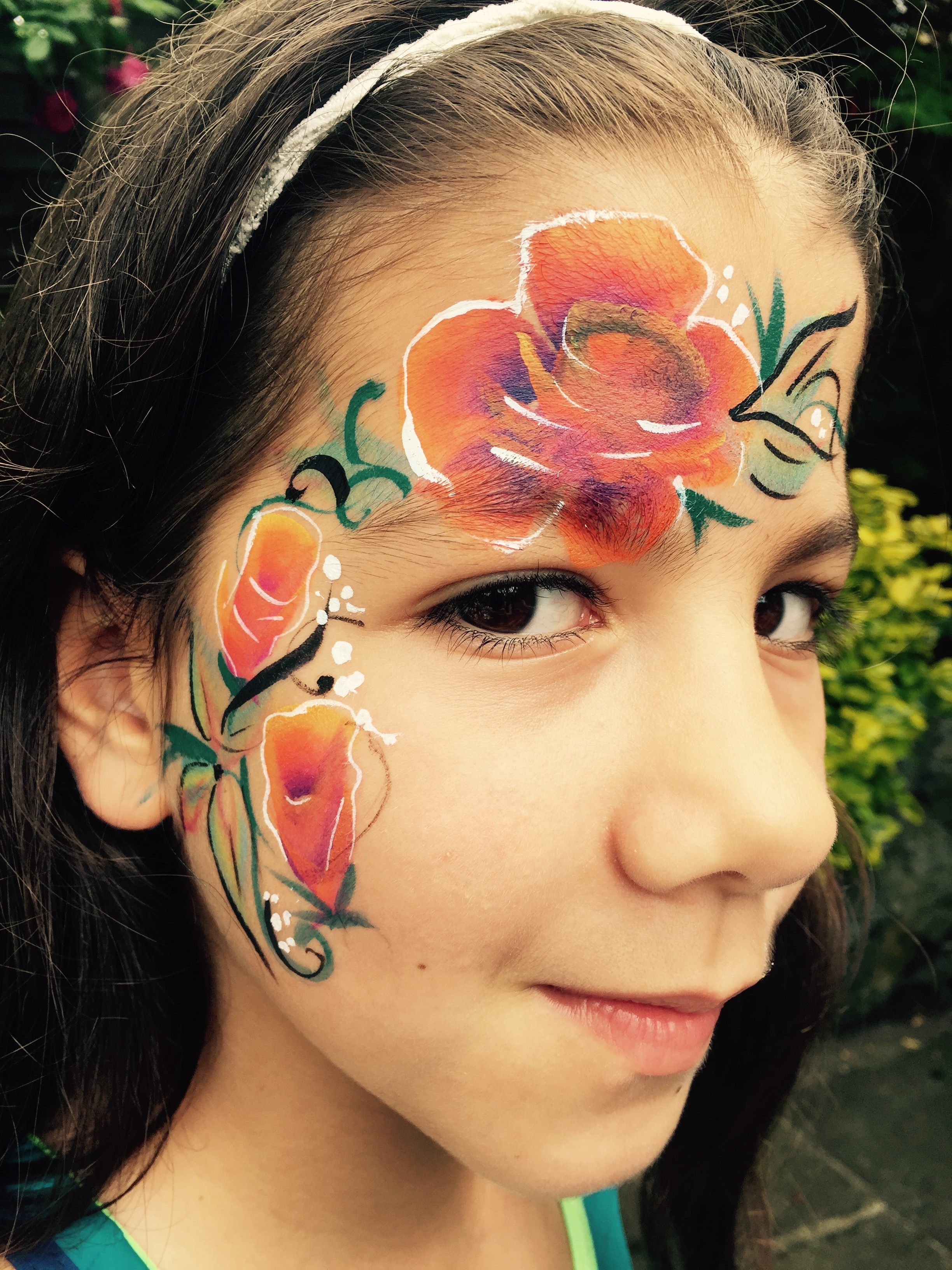 Beanys-facepainting-tropicalroses