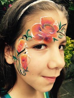 Beanys-facepainting-tropicalroses
