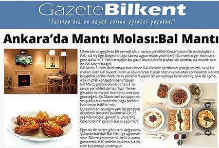 Gazete Bilkent