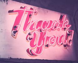 Neon Typography