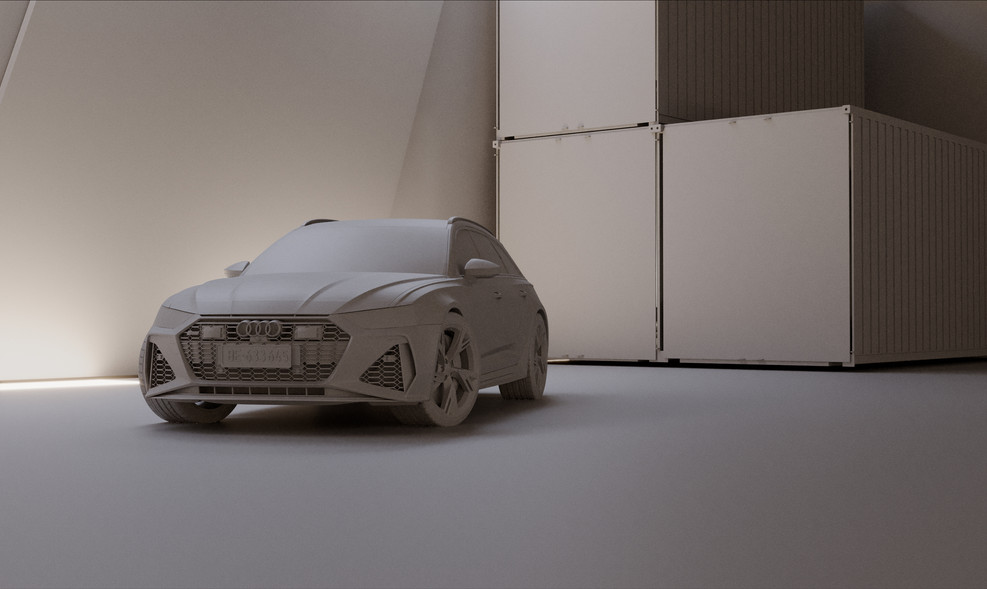 AUDI RS6 - PERSONAL WORK