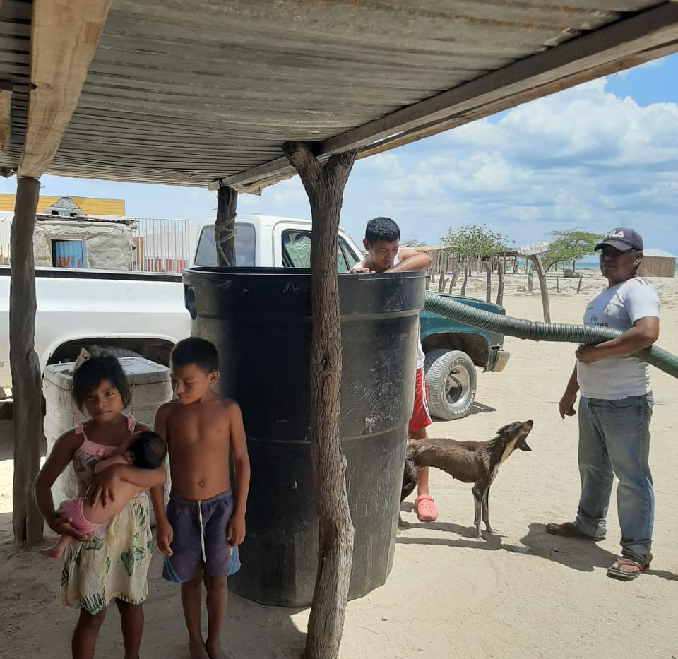 Water Delievery for the Wayuu Community July 2020