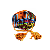 Mola Face Mask | Handmade in Colombia | 100% Textile Art from Kuna Tribe