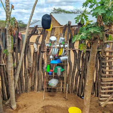 Kitchen at Wayuu settlement
