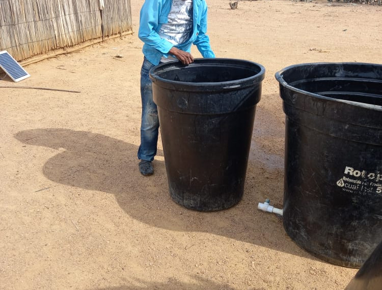 Each failies receives approx. 1,000 liters