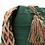Thumbnail: Wayuu Mochila | Solid Green | Crossbody Boho Style Bag