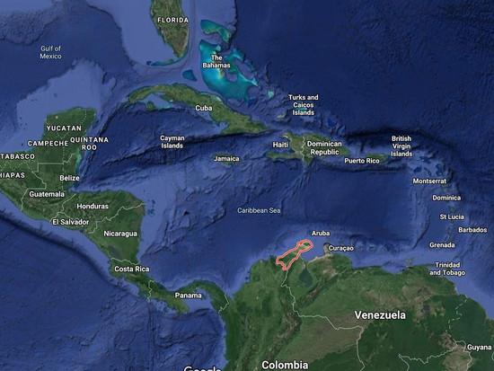 La Guajira Peninsula Map
