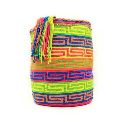 Wayuu Mochila | Bright Patterns | Crochet in Colombia