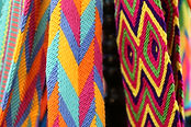 "Hand-woven bag line ""wayuu bags"" is a wo"