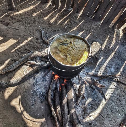 Wayuu cooking