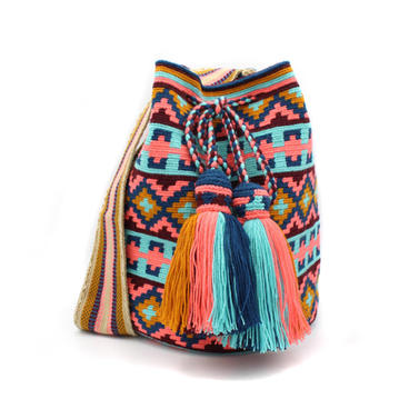 Colorful Wayuu Mochilas
