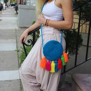 Round Wayuu Bags
