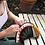 Thumbnail: Ultra Slim Modern Clutch with Tassel   Wayuu Crochet Clutch   Half Moon Envelope
