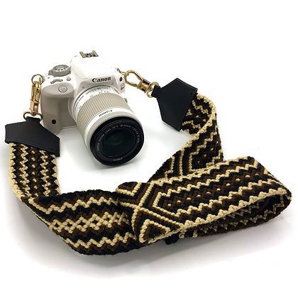 Handwoven Boho Multipurpose Strap | Crochet Wayuu Camera Strap | Purse Strap |