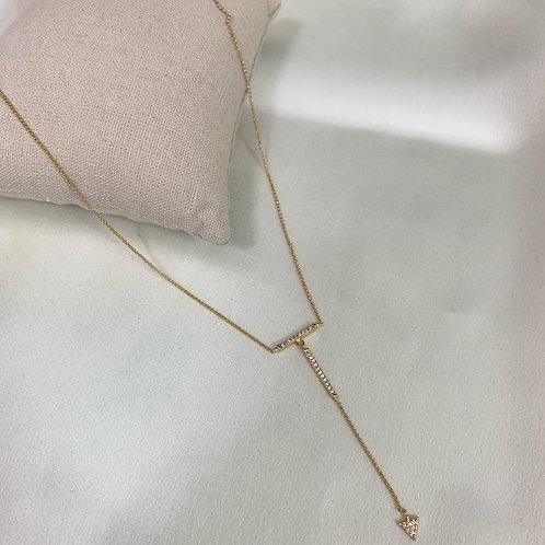 Corrente Banho de Ouro 18k micro zircônia