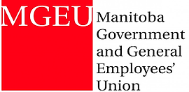 Manitoba Government and General Employees' Union logo