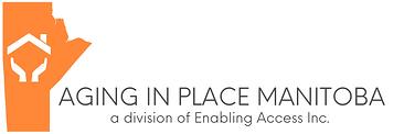 Aging in place manitoba logo