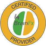 BrainFX Certified Provider Logo