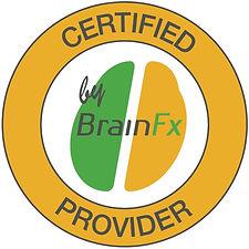 Certified provider by Brain FX logo