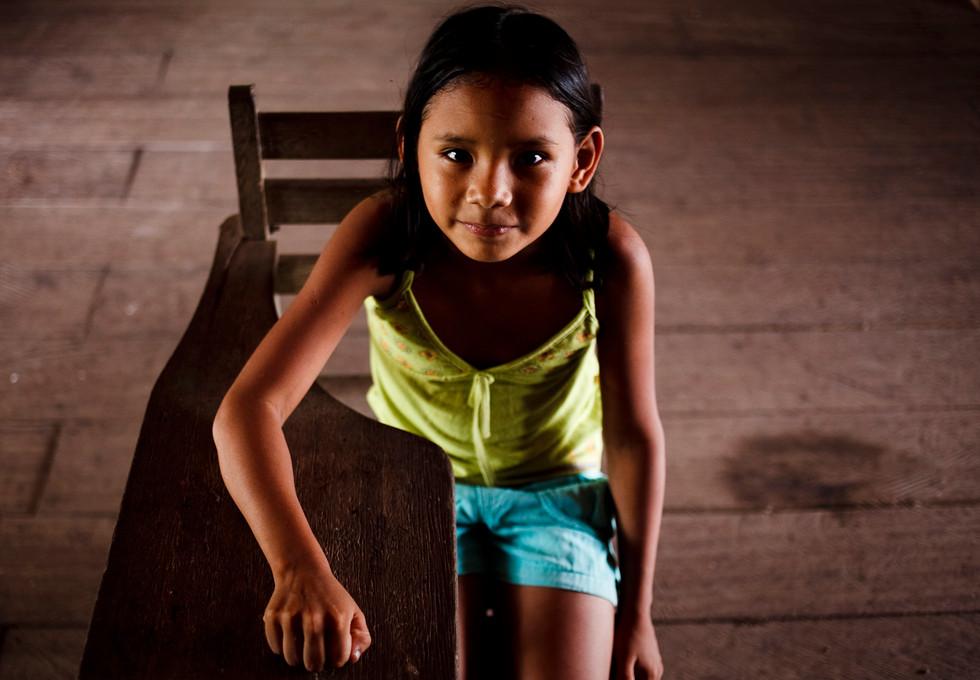Menina do Rio Tapajós