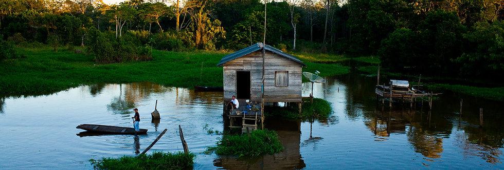 Amazônia. Impressão 30x40cm. Papel Hahnemühle. REF: 5071