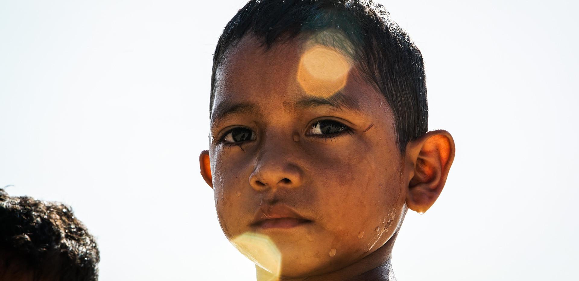 Menino no Pará