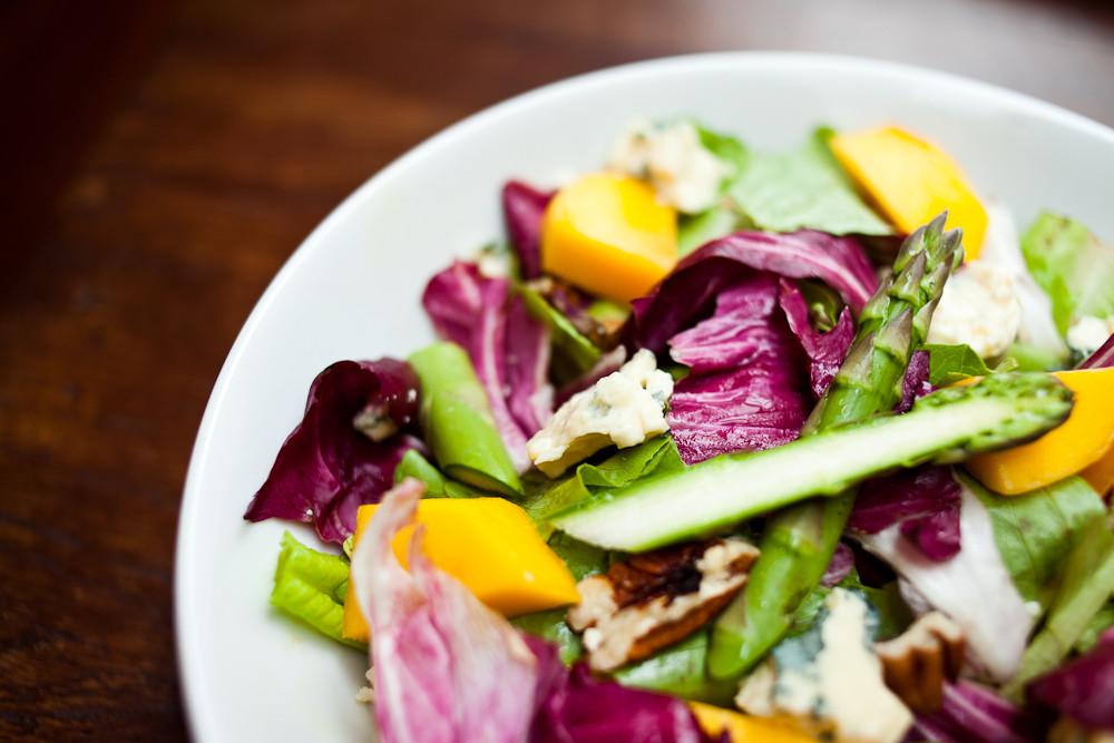 Restaurante Ruaa. Entrada: Salada.