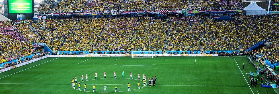 Abertura Copa do Mundo. Print Fine Art papel 100% algodão (30cm x 40cm)