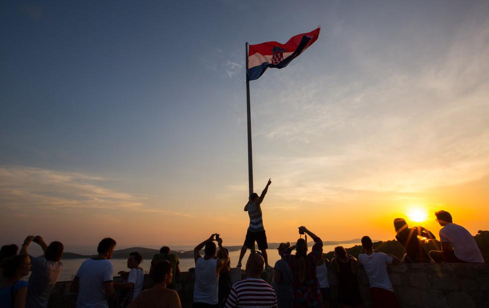 Bandeira Croácia