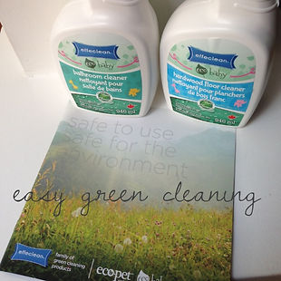 Eco Friendly cleaning products from your Burlington Flooring store!