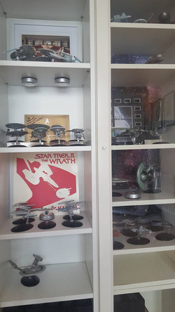 Star Trek Display.