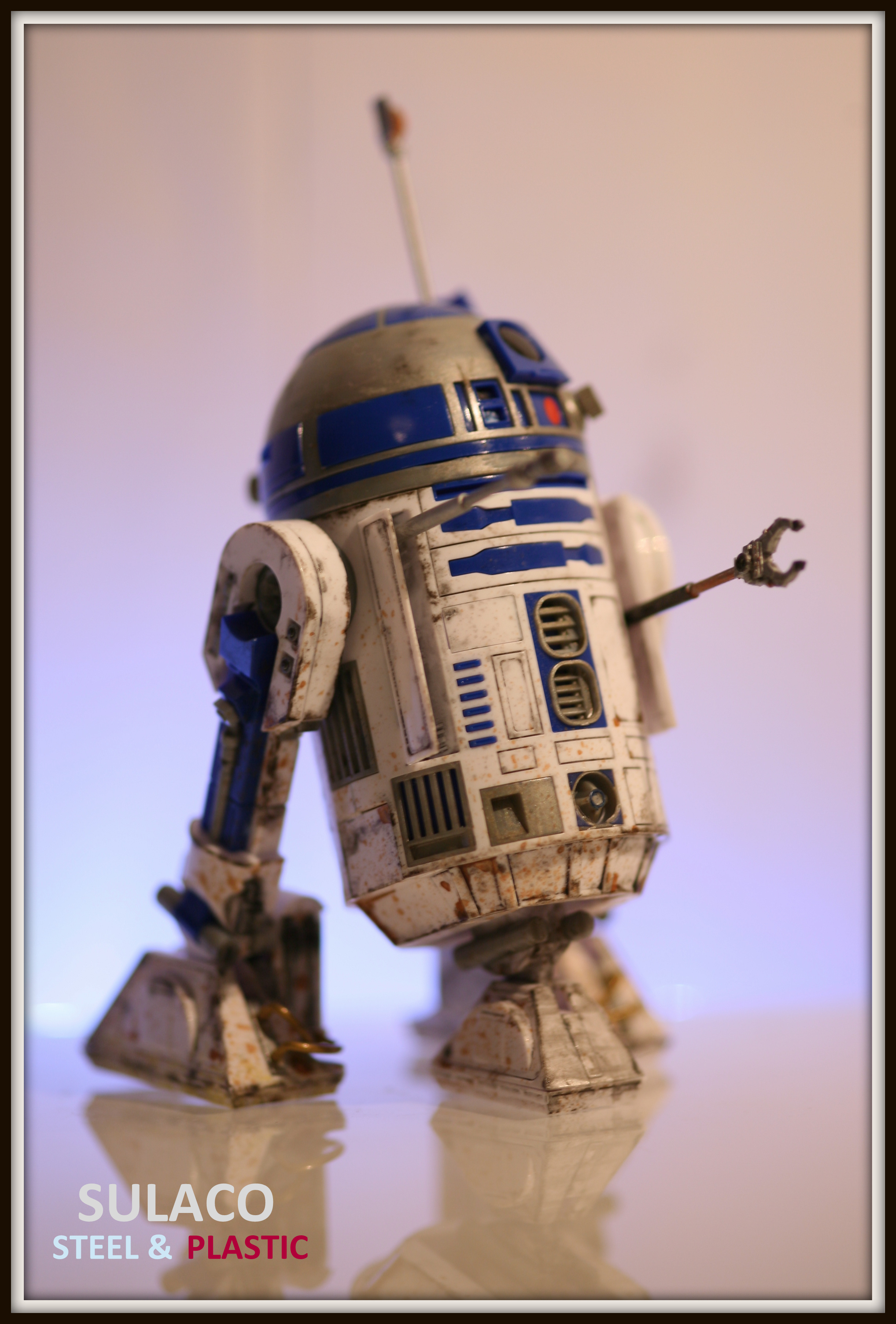 R2-D2 ( Heavy Weathered)