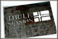 Thule Station. (Remains in snow)