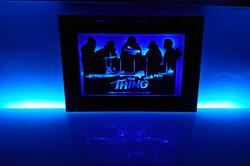 Version 3, Framed with LED lights